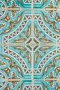 Free Traditional Portuguese Azulejo Tile Stock Photo - 24102380