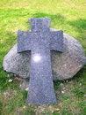 Free Stone Cross Royalty Free Stock Photo - 24107195