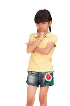 Free Asian Little Girl Stock Image - 24102231