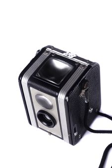 Free Vintage Dual Lenses Camera Stock Images - 24102484