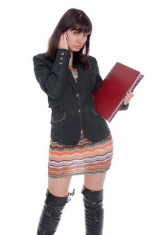 University Student At School Royalty Free Stock Photos