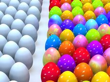Free Easter End Eggs Stock Image - 24105001
