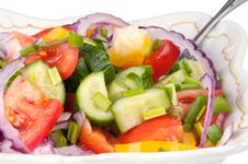 Summer Salad Stock Images