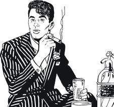 Free Illustration Of A Businessman, Stock Image - 24107021