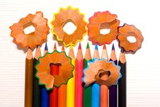 Free Colorful Pencils Stock Images - 24107294