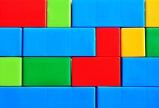 Free Colorful Brick Wall Stock Images - 24108734