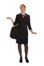 Free Flight Attendant Walking To Her Flight Royalty Free Stock Photo - 24110475