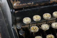 Free Typewriter Stock Photo - 24112050