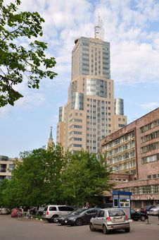 Free Skyscraper In Moscow. Stock Photography - 24113232