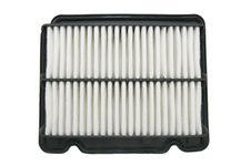 Air Filter To The Car Stock Photo