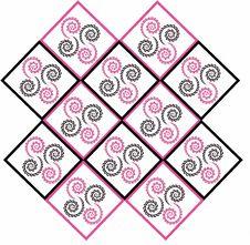 Free Pink Black Spiral Background Stock Photos - 24115683