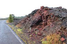The Never Sleeping Kilauea Volcano Royalty Free Stock Image