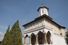 Old Traditional Romanian Orthodox Church Stock Image