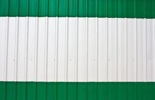 Corrugated Steel Sheet Royalty Free Stock Photography