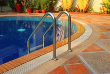 Free Swimming Pool Of The Luxury Resort Royalty Free Stock Image - 24119806