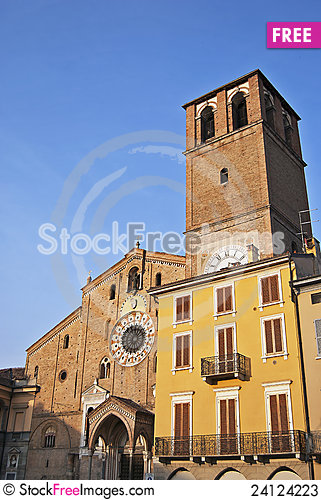 Free Romanesque Architecture In Italy Stock Photos - 24124223
