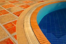 Free Floor Of Swimming Pool In The Luxury Resort Stock Photo - 24120020