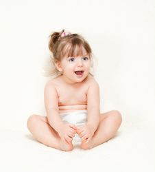 Free Beautiful Little Girl Stock Images - 24121084