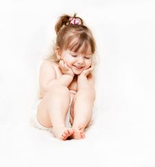 Free Beautiful Little Girl Stock Photography - 24121612