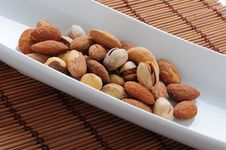 Free Lebanese Nuts Close Up Royalty Free Stock Photos - 24121858