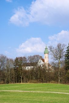 Free Andechs Abbey Stock Photos - 24122523