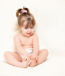 Free Beautiful Little Girl Stock Images - 24123424