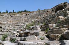 Free Fragment Of Odeon Of Ephesus Stock Photo - 24123830