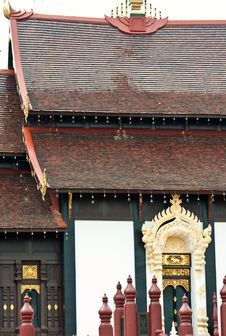 Free Thai Oriental Palace Royalty Free Stock Image - 24128906