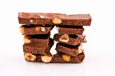 Free Choco And Nuts Stock Photo - 24129650