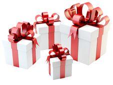Free Gift Boxes Stock Photos - 24129943