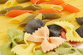 Free Italian Pasta Spaghetti, Tricolore And Farfalle Royalty Free Stock Images - 24139849