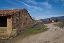 Free Camino Rural Royalty Free Stock Photography - 24131947