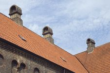 Free Roof Of An Old Monastery Royalty Free Stock Photography - 24132567
