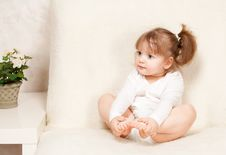 Free Beautiful Little Girl Royalty Free Stock Photo - 24133515