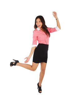 Free Beautiful Mixed Race Businesswoman Stock Images - 24136114