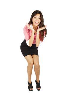 Free Beautiful Mixed Race Businesswoman Royalty Free Stock Image - 24136116