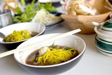 Noodle With Thai General Stock Photography