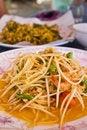 Free Som Tam,Thai Papaya Salad Hot And Spicy Stock Photography - 24149292
