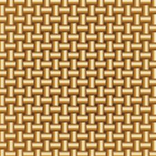 Free Golden Braided Pattern Stock Photo - 24140150