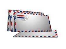 Free Air Mail Royalty Free Stock Photo - 24140235