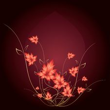Free Floral Background Royalty Free Stock Image - 24140326