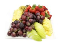 Free A Plate Of Ripe Fruit Royalty Free Stock Image - 24142336