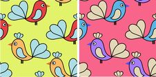 Free Set Of Abstract Seamless Patterns Royalty Free Stock Photo - 24142945