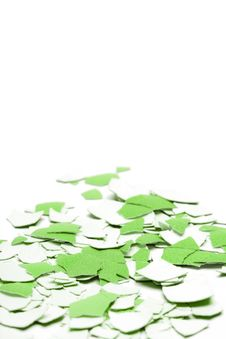 Free Abstract Green Shell Background Royalty Free Stock Images - 24145399
