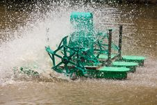 Free Electric Water Turbine Machine Stock Photos - 24146883