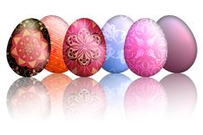 Free Colorful Easter Eggs Stock Photos - 24147173