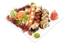 Free Sushi Royalty Free Stock Photo - 24147825