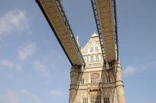 Detail Of Tower Bridge, London Stock Photography