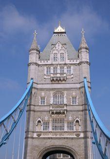 Detail Of Tower Bridge, London Royalty Free Stock Photography