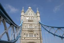 Free Detail Of Tower Bridge, London Royalty Free Stock Photos - 24148008